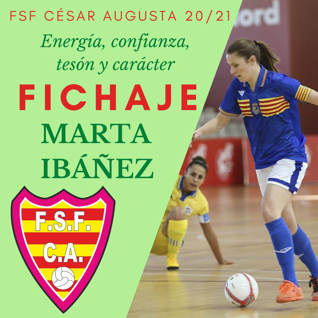 Marta Ibáñez, nuevo fichaje de FSF César Augusta