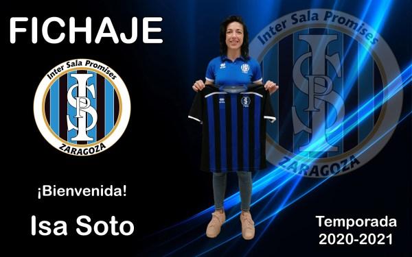 Intersala Promises presenta a Isa Soto, segundo fichaje para la Temporada 2020/2021
