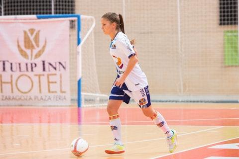 """Laura Boix (Capitana de Sala Zaragoza): """"Hemos logrado formar un grupo de mucho nivel, las nuevas jugadoras han aportado mucha calidad"""""""