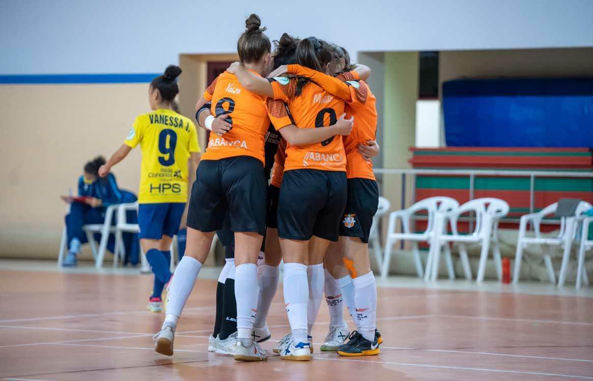 Último partido del año para el Viaxes Amarelle FSF, visitando al Ence Marín Futsal, en partido de Copa de la Reina FS