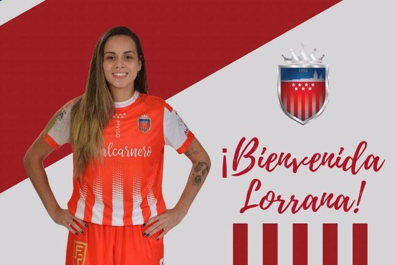 La internacional brasileña Lorrana Dias Corea, 'Lorrana' es nueva jugadora rojiblanca