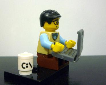 Geek en Lego