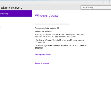 Windows 10 podría incluir un método P2P para Windows Update