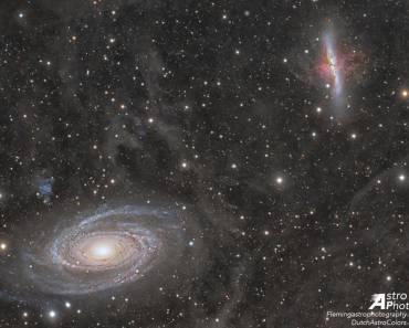 Guerras galácticas: M81 contra M82