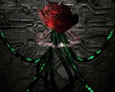 Crean una rosa biónica que se comporta como una batería