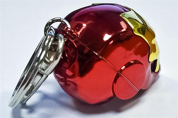 Iron Man Helmet Keychain  ZonahobbyCom  Semic