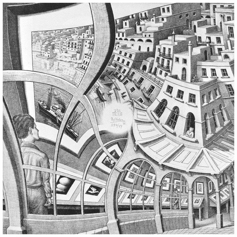 Print Gallery, de Escher