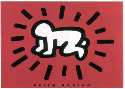 haring red baby.jpg