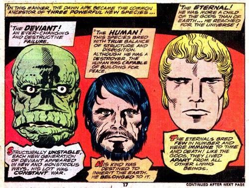 Celestiales, Eternos y Desviantes protagonistas de una cosmogonía Marvel    Zona Negativa