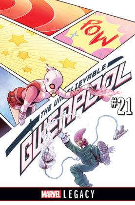 gwenpool 21 portada