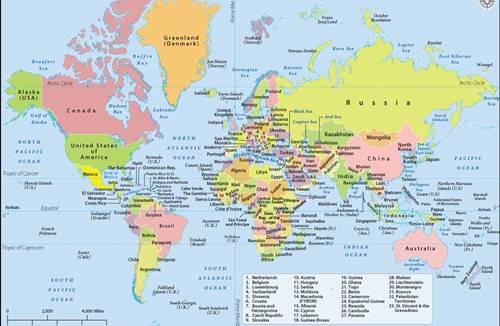 Peta rupa bumi indonesia (rbi) merupakan peta yang sejenis dengan peta topografi. Jenis Jenis Peta Beserta Contoh Fungsi Dan Penjelasannya Lengkap