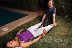Masaje Tailandés: técnica sobre músculos aductores (piernas) - Zona Refleja Terapias