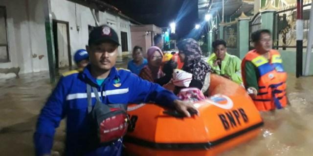 Hujan Deras, Akibatkan Banjir Sebagian Wilayah Kota Pamekasan