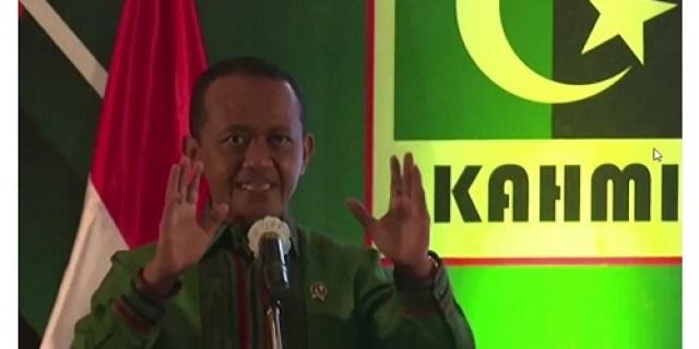 Beri Orasi di Pelantikan MW Kahmi Jatim, Bahlil : Indonesia akan jadi pemain penting energi baru dunia