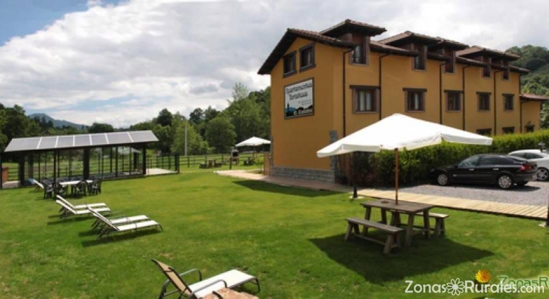 6 apartamentos con distintas capacidades de 2, 3 y 4 plazas. Apartamentos El Castañeu | Apartamentos Rurales en Cangas ...