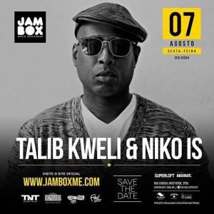 Talib Kweli & Niko IS em São Paulo