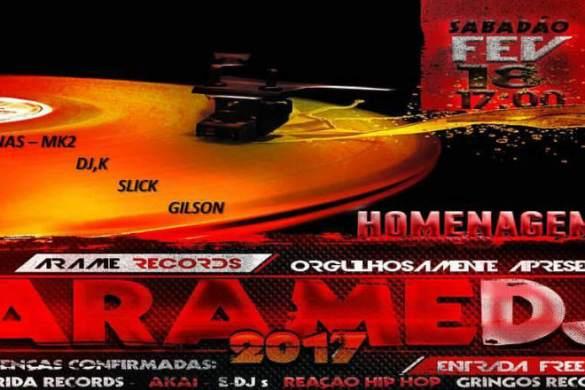 Em celebração ao primeiro elemento do Hip Hop, DJ Buiu promove o I Arame DJ no bairro de Itaquera