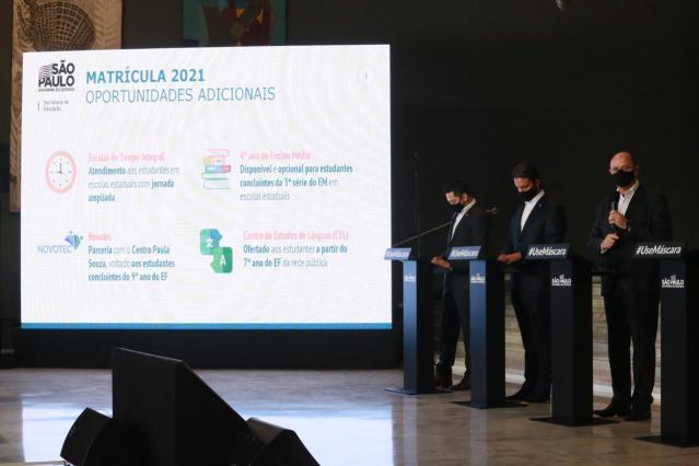 Governo de SP abre matrículas para rede estadual de ensino