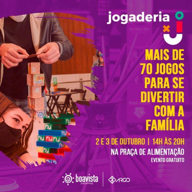 """Boavista Shopping realiza o """"jogaderia"""", evento de jogos de tabuleiro para toda família"""