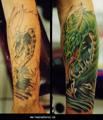 Cover Up Con Capas De Blancos Zonatattoos