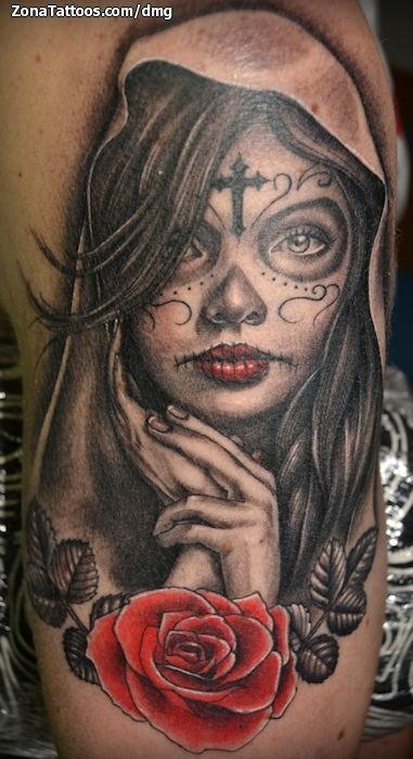 Tatuajes Catrinas Para Hombres Tatuajes Pequeños