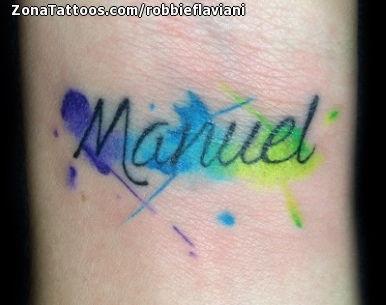 Tatuajes Y Diseños Del Nombre Manuel Zonatattoos