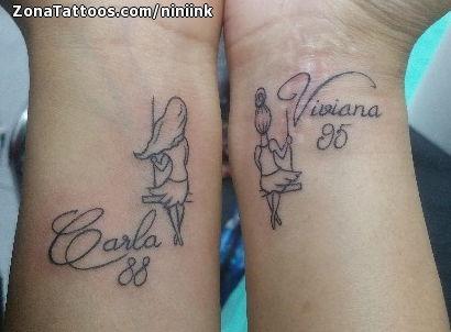 Tatuajes Y Diseños Del Nombre Viviana Zonatattoos
