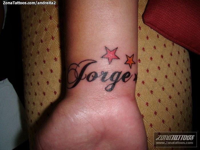 Tatuajes Y Diseños Del Nombre Jorge Zonatattoos