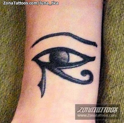 Tatuaje De Ojo De Horus Egipcios
