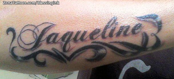 Tatuajes Y Diseños Del Nombre Jaqueline Zonatattoos