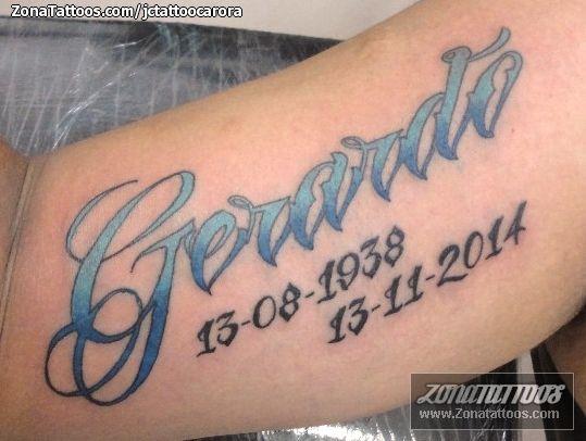 Tatuajes Y Diseños Del Nombre Gerardo Zonatattoos