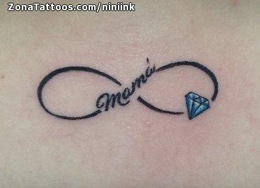 Tatuajes Y Diseños Del Símbolo Infinito