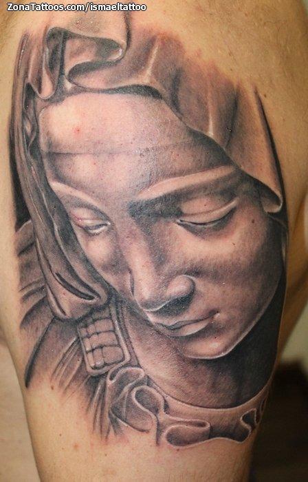 Tatuajes Y Diseños De Vírgenes