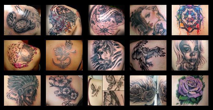 Tatuajes En El Omóplato O Escápula