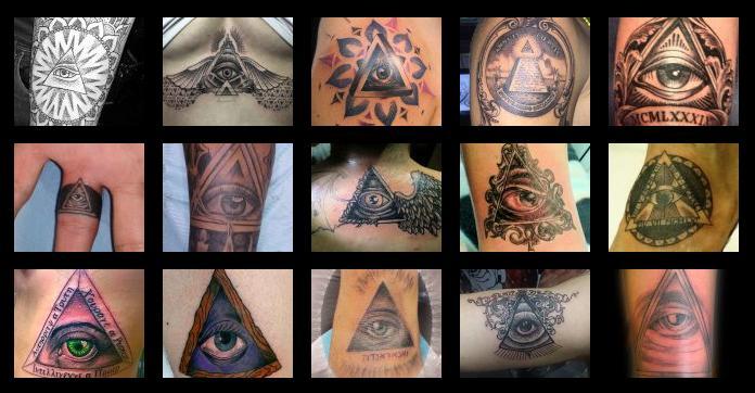 Tatuajes Y Diseños Con Símbolos Illuminati Página 1