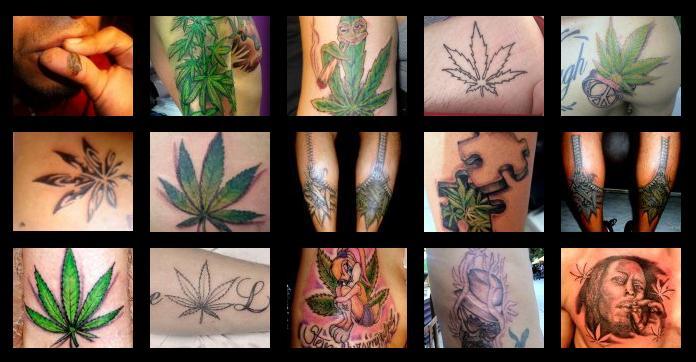 Tatuajes Y Diseños Marihuana