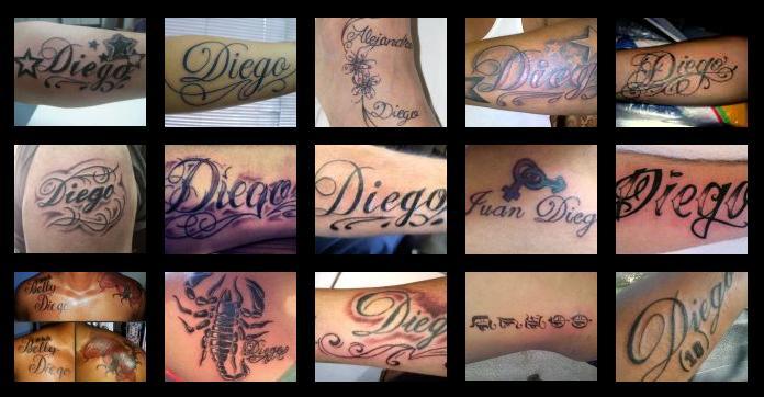 Tatuajes Y Diseños Del Nombre Diego Zonatattoos