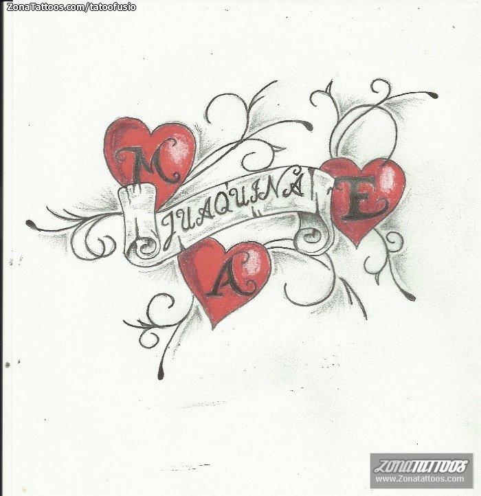 Tatuajes Y Diseños Iniciales