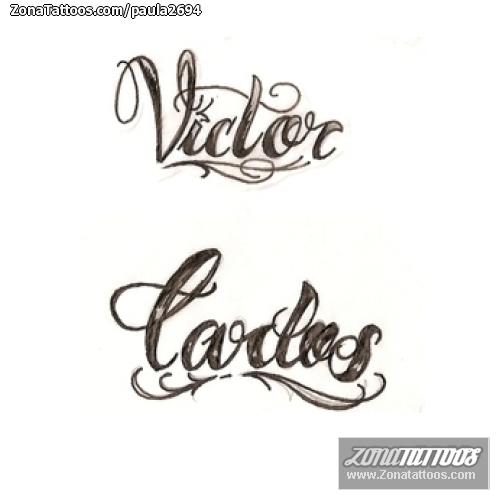 Tatuajes Y Diseños Con El Nombre Carlos