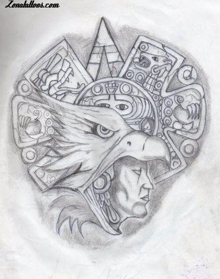 Tatuajes Y Diseños Mayas