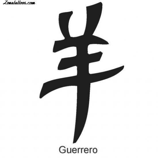 Tatuajes Y Diseños Letras Chinas