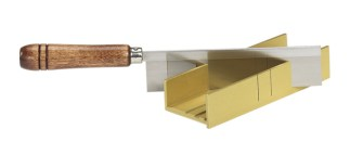35 241 - Aluminum Miter Box and Fine Kerf Saw - 35-241  Aluminum Miter Box and Fine Kerf Saw - 35-241 - zona-razor-saws-razor-saw, razor-saw-sets, razor-saws-miter-boxes, miter-boxes-and-razor-saw-sets, miter-boxes-mitre-box-sets