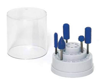 37 880 - A-10088 Round Bur Holder with Cover  A-10088 Round Bur Holder with Cover - hand-tools, hobby-clamp-vises-and-bur-holders