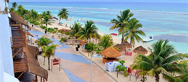 Malecón, lo mejor que hacer en Mahahual, | ZonaTuristica