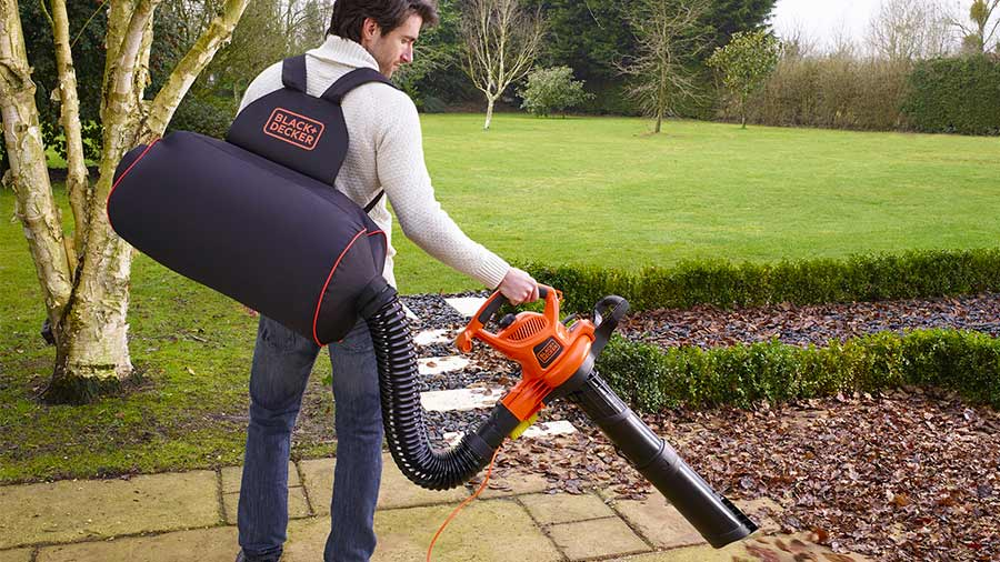 Battery Leaf Vacuum Mulcher