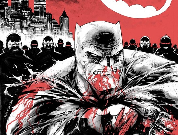 Dark Knight III The Master Race: Issue 1 review