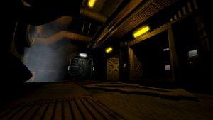 Doom 3 corridor