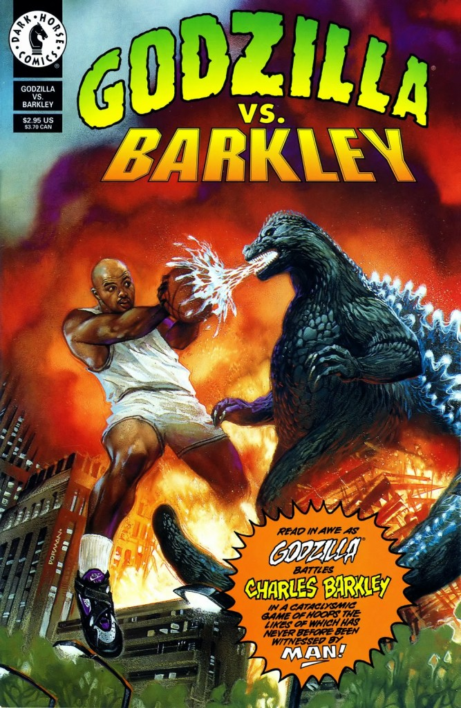 SF W Godzilla Vs Barkley Cover