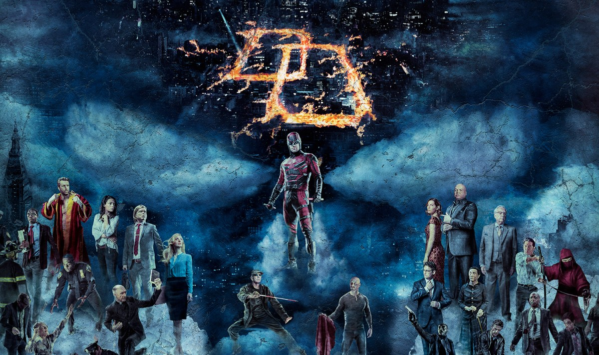 All hell Baroque loose in the imagery of Daredevil season 2 adverts