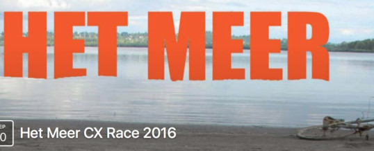 2016 Het Meer Cross Race – Saturday, September 10th